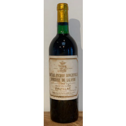 Chateau Pichon Comtesse 1981 (Etikett)