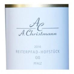 """Riesling """"Reiterpfad"""" GG 2012 Weingut A. Christmann"""