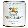 Chateau Pape Clement 2014 rot