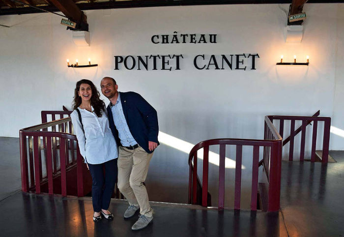 Verkostung in Chateau Pontet Canet