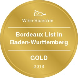 Wine-Searcher Award Bordeaux 2018 Gold