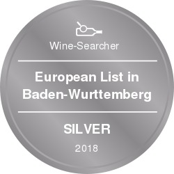 Wine-Searcher Award European 2018 Silver