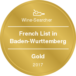 Wine-Searcher Award French 2017 Gold