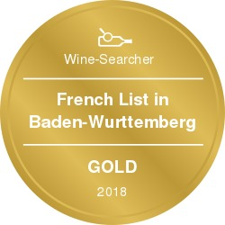 Wine-Searcher Award French 2018 Gold