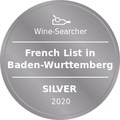 Award Winesearcher-French List in Baden-Wurttemberg-Silver-2020
