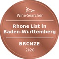Award Winesearcher-Rhone List in Baden-Wurttemberg-Bronze-2020