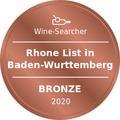 Award Winesearcher-Rhone List in Baden-Wurttemberg-Bronze-2020